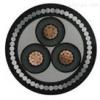 YJV42粗钢丝铠装电力电缆3*150外径