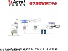 AcrelCloud-3500 餐饮油烟监测云平台厨房油烟净化设施监控系统