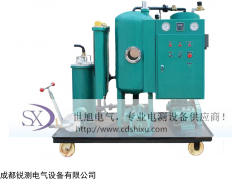 SX 浙江單級高效真空濾油機