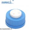 HM-00G45A3QL /【GL45蓝色三孔盖】螺纹45MM试剂瓶盖