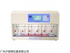 药物液体混凝搅拌器MY3000-6G混凝试验搅拌机