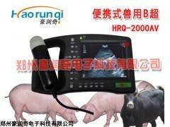 HRQ-5000AV 便携猪用B超测孕诊断仪