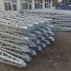 30-100KN 电力资质升级三角抱杆 一级承装修金属抱杆30KN