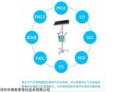 OSEN-AQMS 河南新乡钢铁厂大气环境污染自动监测空气站深圳厂家
