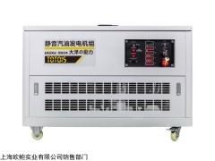 TOTO115 車載減震15kw靜音汽油發電機