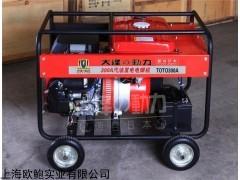 TO300A 300A双缸汽油发电电焊机价格