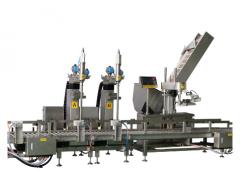 DT 花生油液体自动称重灌装机