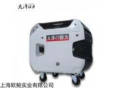 TO8000IS 8KW數碼變頻汽油發電機房車