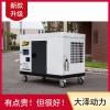 大泽动力 钦州TO22000ET发电机20千瓦规格